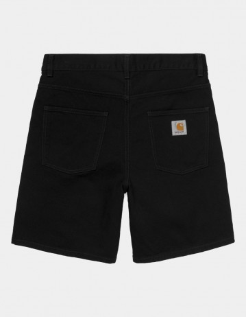 Carhartt Wip Newel Short Black Rinsed. - Product Photo 1