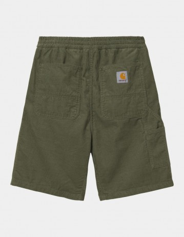 Carhartt Wip Flint Short Dollar Green Rinsed. - Product Photo 1