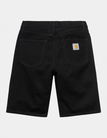 Carhartt Wip Pontiac Short Black Rinsed. - Product Photo 1