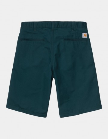 Carhartt Wip Presenter Short Deep Lagoon Rinsed. - Product Photo 1