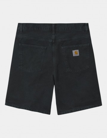 Carhartt Wip Newel Short Black Worn Canvas. - Product Photo 1