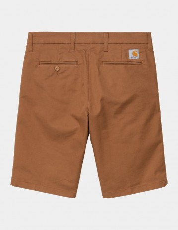 Carhartt Wip Sid Short Rum Rinsed. - Product Photo 1