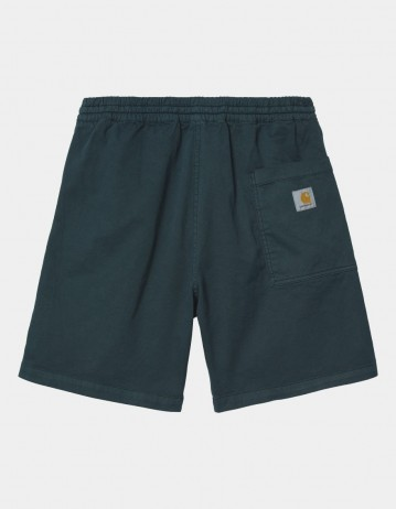 Carhartt Wip Lawton Short Deep Lagoon Garment Dyed. - Product Photo 1