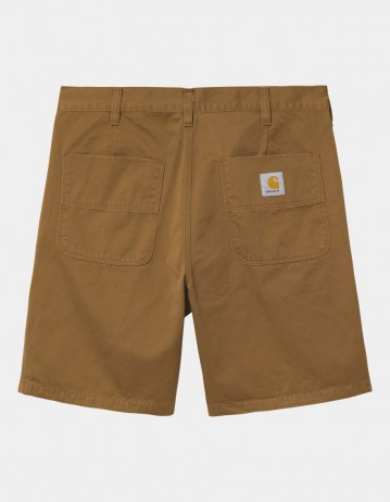 Carhartt Wip Abbott Short Hamilton Brown Stone Washed. - Product Photo 1