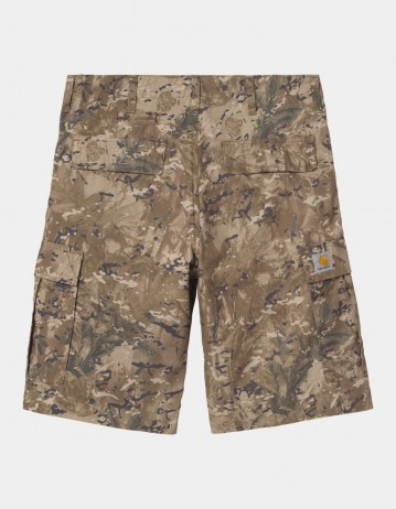 Carhartt Wip Regular Cargo Short Camo Combi, Desert Rinsed. - Product Photo 1