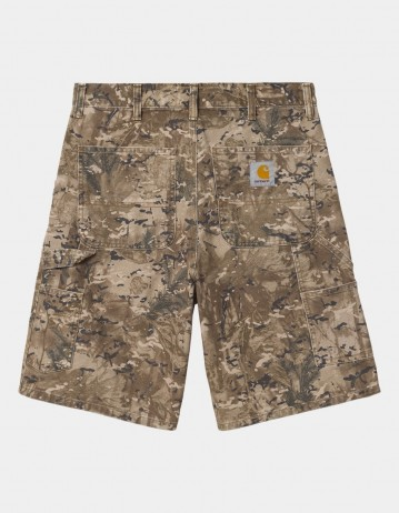 Carhartt Wip Single Knee Short Camo Combi, Desert Worn Canvas. - Product Photo 1