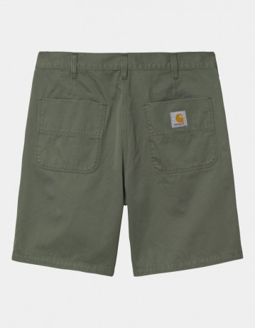 Carhartt Wip Abbott Short Dollar Green Stone Washed. - Product Photo 1