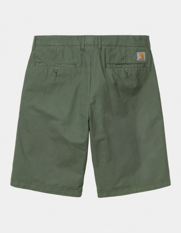 Carhartt Wip Johnson Short Dollar Green Garment Dyed. - Product Photo 1