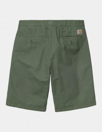 Carhartt Wip Johnson Short Dollar Green Garment Dyed. - Product Photo 1
