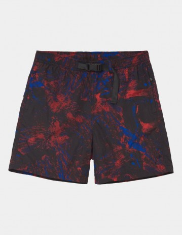 Carhartt Wip Terra Short Satellite Print, Black / Reflective. - Product Photo 1