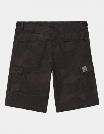 Carhartt Wip Aviation Short Camo Provence Rinsed. - Product Photo 1