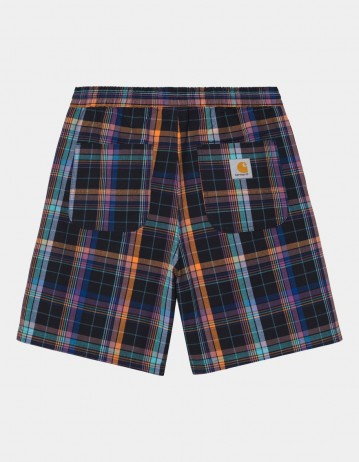 Carhartt Wip Vilay Short Vilay Check, Dark Navy. - Product Photo 1
