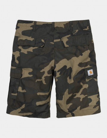 Carhartt Wip Regular Cargo Short Camo Laurel Rinsed. - Product Photo 1
