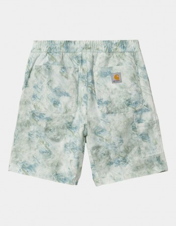 Carhartt Wip Marble Short Marble Print, Wave Stone Washed. - Product Photo 1