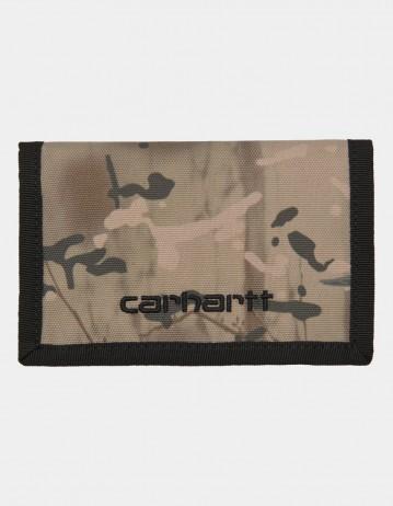 Carhartt Wip Payton Wallet Camo Combi, Desert / Black. - Product Photo 1