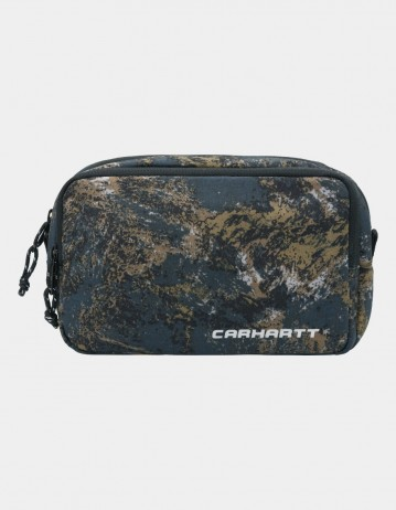 Carhartt Wip Terra Small Bag Satellite Print, Deep Lagoon. - Product Photo 1