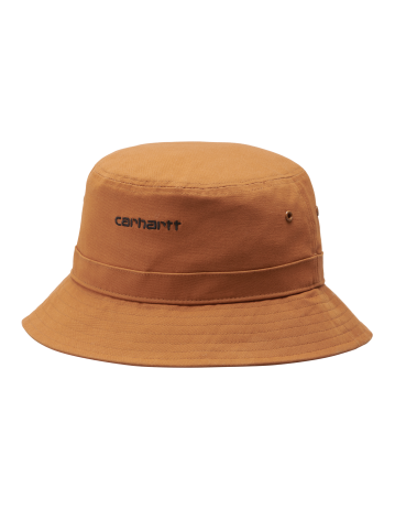 Carhartt Wip Script Bucket Hat Rum / Black. - Product Photo 2