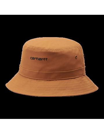 Carhartt Wip Script Bucket Hat Rum / Black. - Product Photo 2