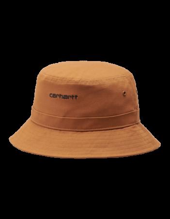 Carhartt WIP Script Bucket Hat Rum / Black. - Cap - Miniature Photo 2