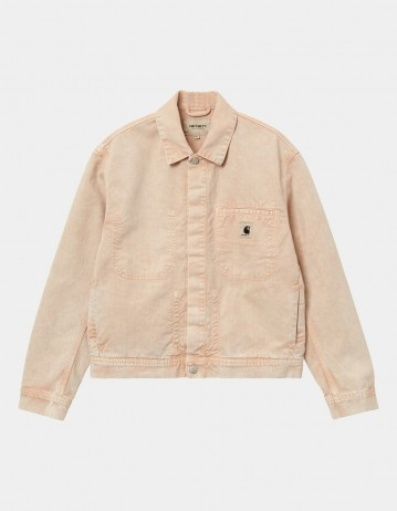 Carhartt Wip W Sonora Jacket Dusty H Brown Worn Washed. - Product Photo 1