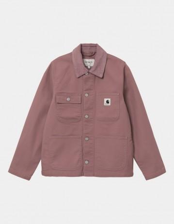 Carhartt Wip W Michigan Jacket (Summer) Malaga / Malaga Rinsed. - Product Photo 1