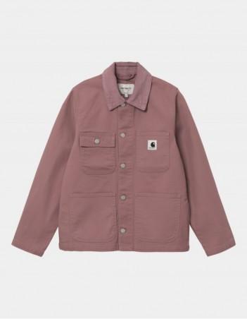 Carhartt WIP W Michigan Jacket (Summer) Malaga / Malaga rinsed. - Veste Femme - Miniature Photo 1