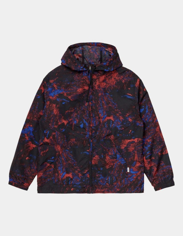 Carhartt Wip W Terrain Jacket Satellite Print, Black. - Frauenjacke  - Cover Photo 1
