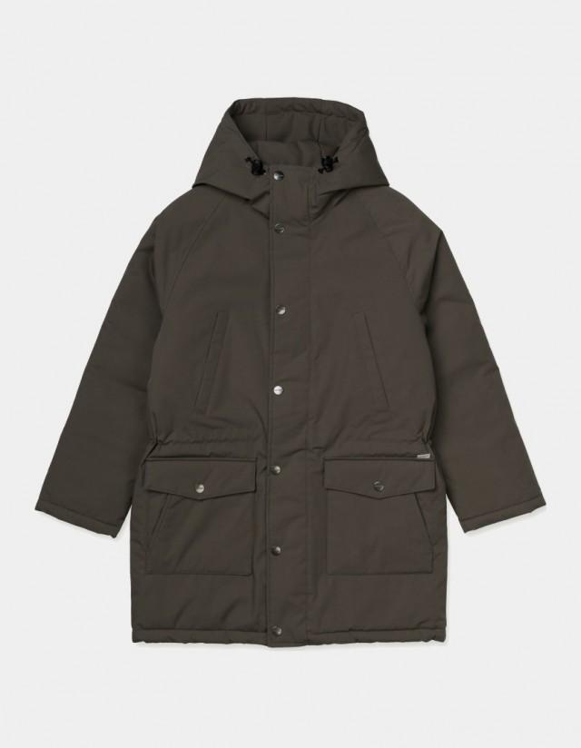 Carhartt Wip W Tropper Parka Moor. - Woman Jacket  - Cover Photo 1