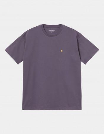 Carhartt WIP W S/S Chase T-Shirt Provence / Gold. - Women's T-Shirt - Miniature Photo 1