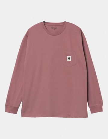Carhartt Wip W L/S Pocket T-Shirt Malaga. - Product Photo 1