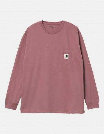 Carhartt Wip W L/S Pocket T-Shirt Malaga. - Product Photo 1