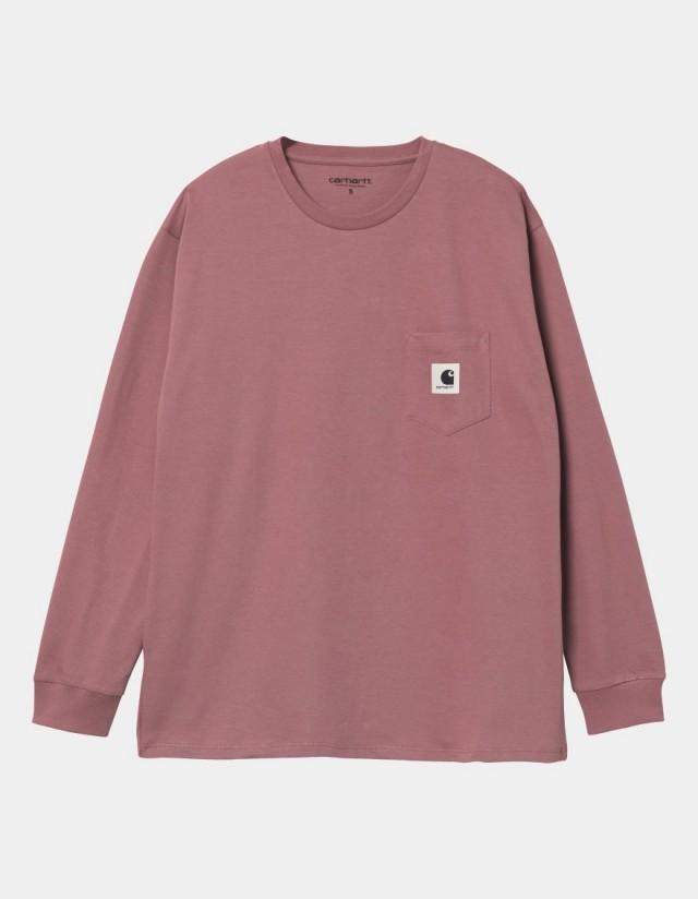 Carhartt Wip W L/S Pocket T-Shirt Malaga. - Women's T-Shirt  - Cover Photo 1