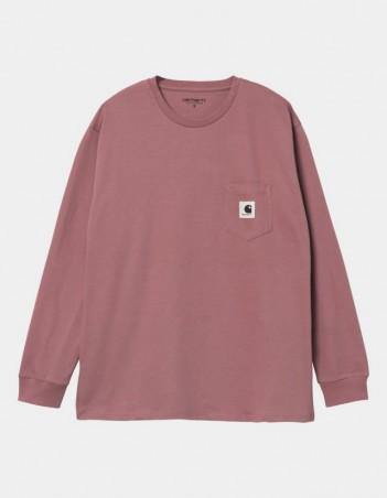 Carhartt WIP W L/S Pocket T-Shirt Malaga. - Women's T-Shirt - Miniature Photo 1