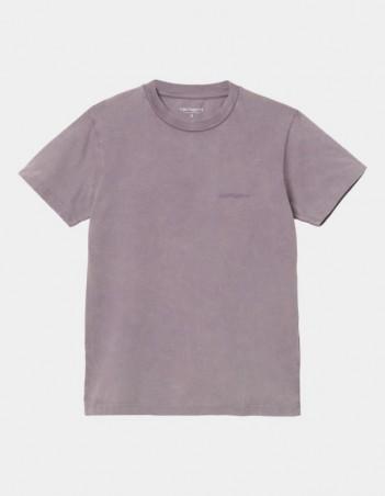 Carhartt WIP W S/S Mosby Script T-Shirt Provence. - Women's T-Shirt - Miniature Photo 1