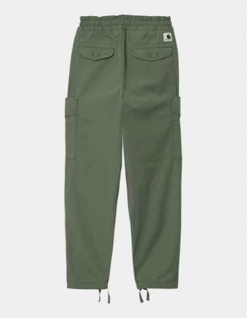 Carhartt WIP W Denver Pant Dollar Green stone washed. - Women's Pants - Miniature Photo 1