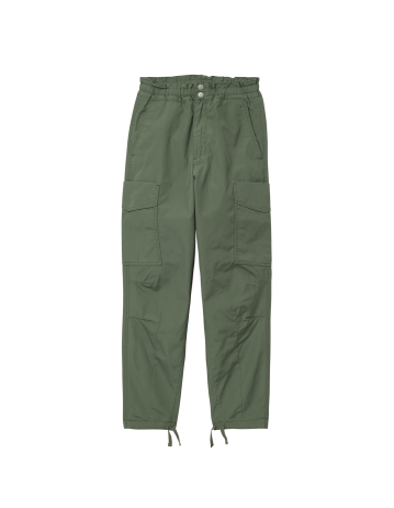 Carhartt Wip W Denver Pant Dollar Green Stone Washed. - Product Photo 2
