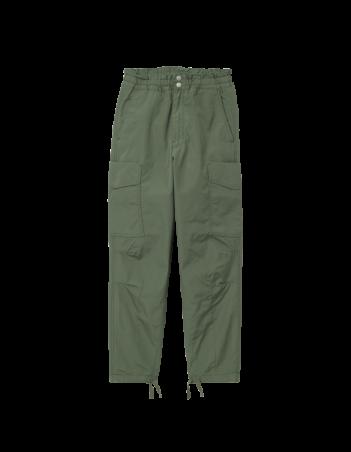Carhartt WIP W Denver Pant Dollar Green stone washed. - Women's Pants - Miniature Photo 2