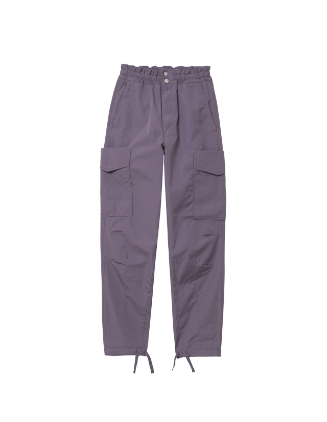 Carhartt Wip W Denver Pant Provence Stone Washed. - Women's Pants  - Cover Photo 2