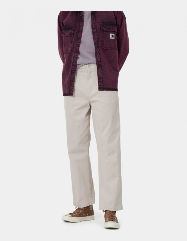 Carhartt Wip W Cara Pant Glaze Rinsed. - Women's Pants  - Cover Photo 1
