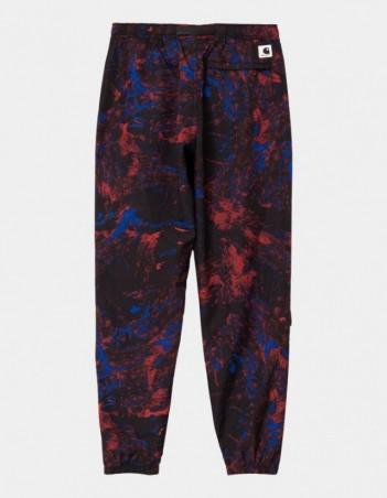 Carhartt WIP W Terrain Pant Satellite Print, Black. - Women's Pants - Miniature Photo 1