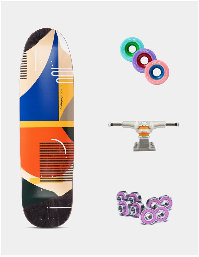 """Loaded """"Hola Lou"""" Coyote All-Round 30.75"""" - Longboard Complete. - Longboard  - Cover Photo 1"""