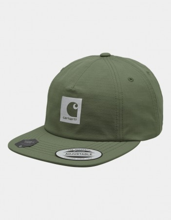 Carhartt WIP Hurst Cap Dollar Green. - Cap - Miniature Photo 1