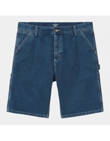 Carhartt Wip Ruck Single Knee Short Blue Stone Washed. - Product Photo 2
