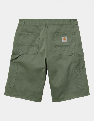 Carhartt Wip Ruck Single Knee Short Dollar Green Stone Washed. - Product Photo 1