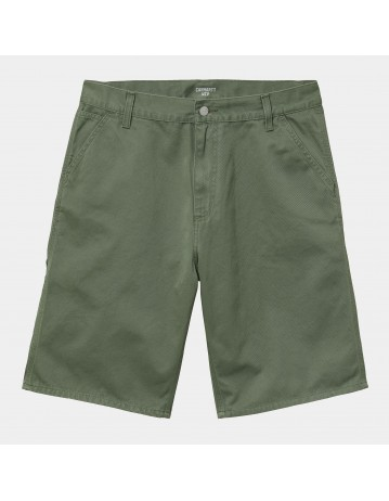 Carhartt Wip Ruck Single Knee Short Dollar Green Stone Washed. - Product Photo 2