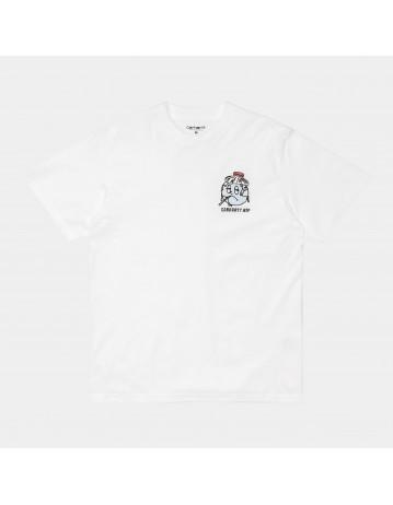 Carhartt Wip S/S Ill World T-Shirt White. - Product Photo 1