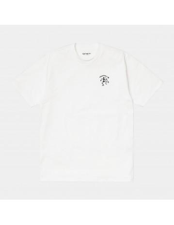 Carhartt Wip S/S Misfortune T-Shirt White. - Product Photo 1