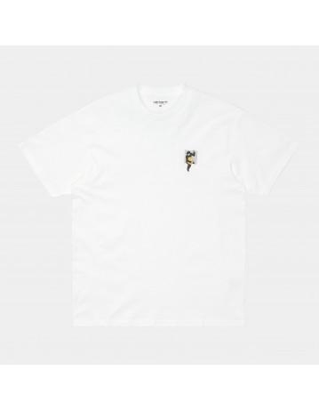 Carhartt Wip S/S Teef T-Shirt White. - Product Photo 1