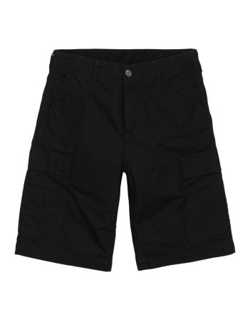 Carhartt WIP Regular Cargo Short Black rinsed. - Shorts - Miniature Photo 2