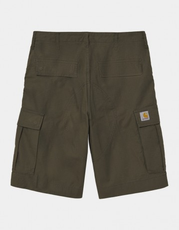 Carhartt Wip Regular Cargo Short Cypress Rinsed. - Product Photo 1